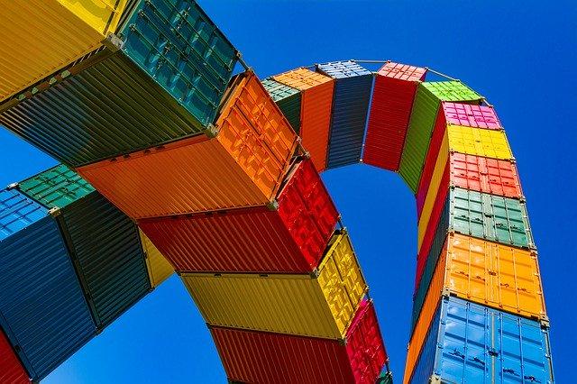 Fracht Container für Altreifen-Export