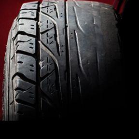 Reifenwechsel aufgrund einseitig abgefahrenen Reifenprofils