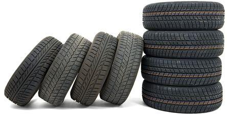 Reifen für die kostenlose Altreifenentsorgung